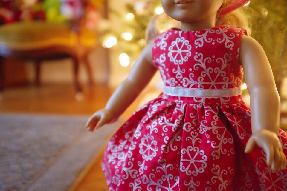 Doll Dress Details