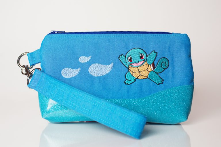Squirtle Wristlet